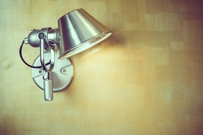 Metal wall lamp lighting electrical